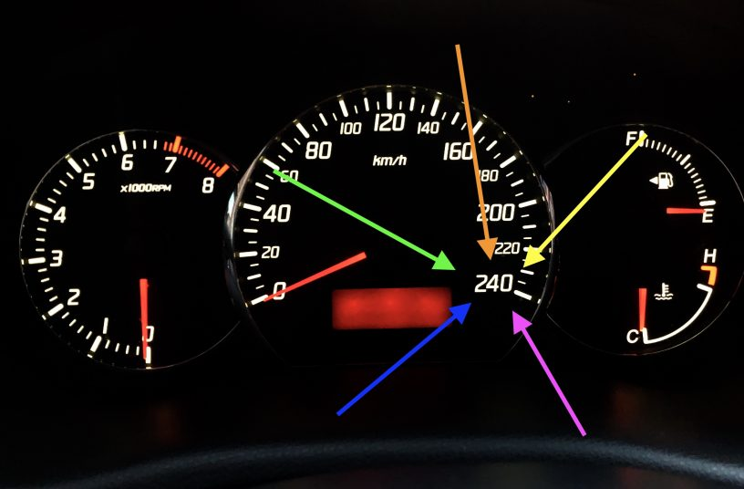 From 200 to 240 km/h